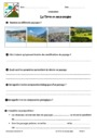 Evaluation La terre et les conditions de vie : 6ème