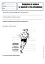 Evaluation Le corps humain et l'éducation à la santé : CE1
