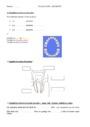 Evaluation Le corps humain et l'éducation à la santé : CE2