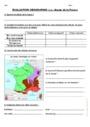 Evaluation Les climats en France : CM1