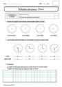 Evaluation Lire l'heure, horloge : CE1