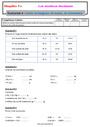 Evaluation Masse g, kg : 6ème
