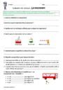 Evaluation Matière, mouvement, énergie, information : CM2