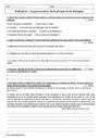 Evaluation Orthographe - Étude de la langue : 6ème