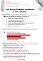 Evaluation Phrase simple et complexe : CM2