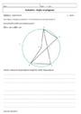 Evaluation Polygones : 3ème