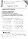 Evaluation Proportionnalité : CM1
