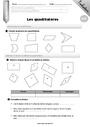 Evaluation Quadrilatères : CM2