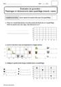 Evaluation Quadrillage : CE1