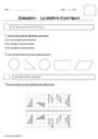 Evaluation Symétrie axiale : CE2