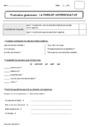 Evaluation Types de phrases : CE1