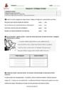 Evaluation Verbe, groupe verbal : CM1
