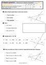 Evaluation Vocabulaire de géométrie : CM1