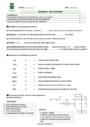 Evaluation Vocabulaire Homonymes, homophones : CM2