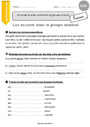 Exercice Accord dans le groupe nominal : CM1 - Cycle 3 - Pass Education