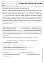 Exercice Accord de l'adjectif qualificatif : 5ème