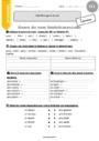 Exercice Accord du nom / pluriels particuliers : CE1