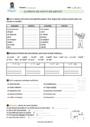 Exercice Accord du nom / pluriels particuliers : CM1