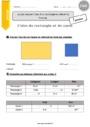 Exercice Aires et volumes : CM2