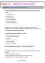Exercice Algorithme / programmation : 5ème
