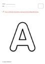 Exercice Alphabets : MS - Moyenne Section