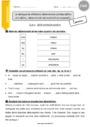 Exercice Article et déterminant : CM2