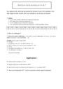 Exercice Autres fiches - Calculs : 6ème