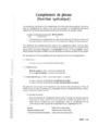 Exercice Autres fiches - Grammaire : 6ème