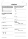 Exercice Calcul et équation : Seconde - 2nde