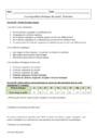 Exercice Composition chimique du vivant : Seconde - 2nde