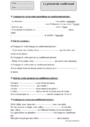 Exercice Conditionnel : CM1