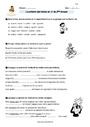 Exercice Conjugaison : CM2