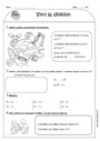 Exercice Division, partage : CE1 - Cycle 2 - Pass Education