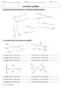 Exercice Droites parallèles : CE2