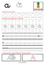 Exercice Ecriture : Maternelle - Cycle 1
