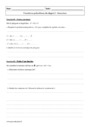 Exercice Fonctions polynômes de degré 2 : Première