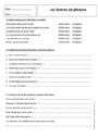 Exercice Formes de phrases : 5ème