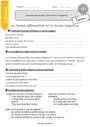 Exercice Formes de phrases : CE1