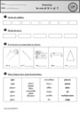 Exercice gl, cl, pl, bl.... - Son complexe, confusion : CP