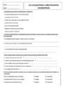 Exercice Grammaire - Étude de la langue : 5ème