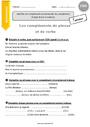 Exercice Grammaire - Étude de la langue : CM1
