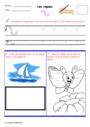 Exercice Graphisme : Maternelle - Cycle 1