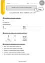 Exercice Groupes des verbes : CE1