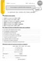 Exercice Groupes des verbes : CM2