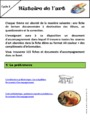 Exercice Histoire des arts : CM2