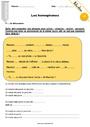 Exercice Homonymes, homophones : CM2