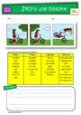Exercice Images séquentielles : CE2