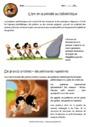 Exercice L'art et la pensée à la préhistoire : CE2