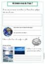 Exercice L'éducation à l'environnement : L'eau : CE1