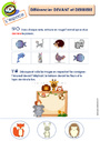 Exercice L'espace : Maternelle - Cycle 1